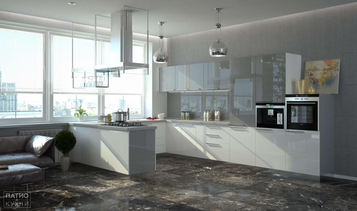 Белая кухня все о дизайне интерьера в белом цвете (90 фото) 73